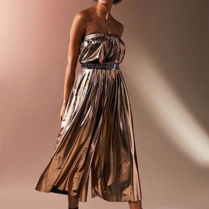 Urban Outfitter Hollywood Shiny Metallic Jumpsuit